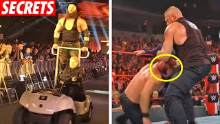 10 Biggest Secrets WWE Failed to Hide