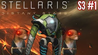 Stellaris Distant Stars | S3 Ep1 | Assimilation By Lobotomy Bots  | Stellaris Gameplay - Let's play.