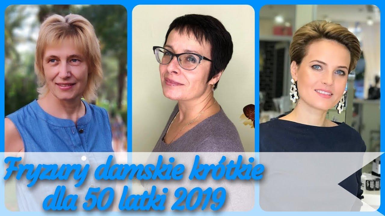 Top 20 Fryzury Damskie Krótkie Dla 50 Latki 2019
