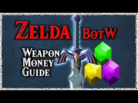 Zelda BotW - Weapon & Money Guide