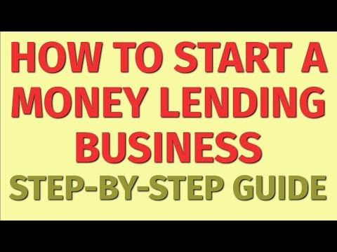 Starting a Money Lending Business Guide   How to Start a Money Lending Business    Business Ideas