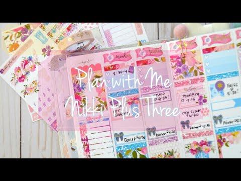 Plan with Me // Nikki Plus Three