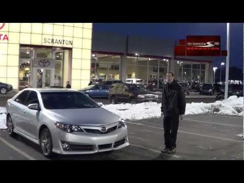 2012 Camry In The Snow