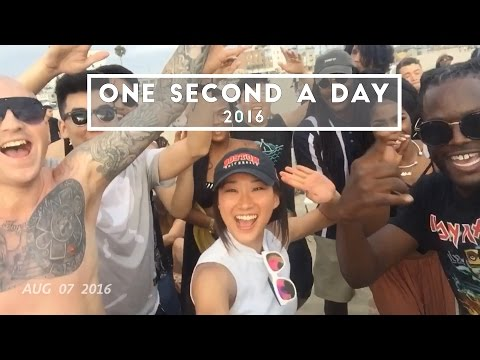 2016 - 1 SECOND A DAY // Life at Boston University to life in LA