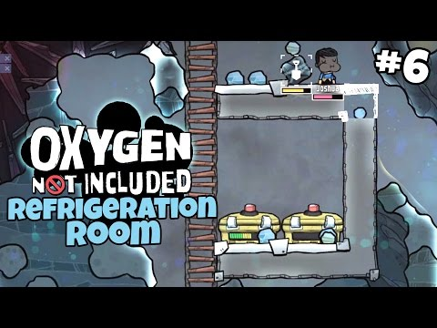 Refrigerated Food - Oxygen Not Included Gameplay - Part 6