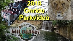 Wildlands Adventure Zoo Emmen 2018 - Parkvideo - Tweestryd onride POV - Tiere Shows Impressionen