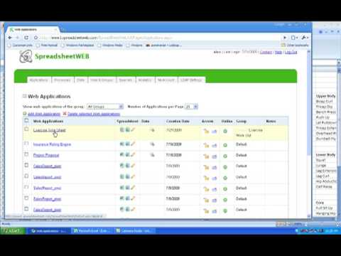 building an exercise log and database in spreadsheetweb youtube