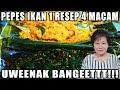 Resep : Pepes Ikan 1 Resep 4 macam Uweennakk Banget!!!