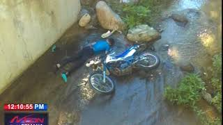 Dos jóvenes mueren en accidente de motocicleta en Jarabacoa