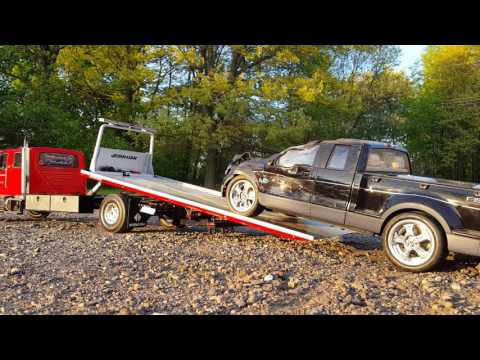 rc rollback wrecker tow truck youtube. Black Bedroom Furniture Sets. Home Design Ideas