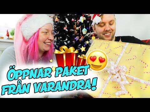 Öppnar Varandras Paket På Julafton! 🎁