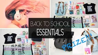 Back to School Essentials | ANNEORSHINE Thumbnail