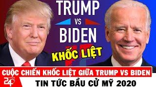 🔴Tin Bầu Cử Mỹ Ngày 19/9: Cuộc Chiê'n Khô'c Liệt Trên 2 Mặt Trận Của TT Trump Vs Biden