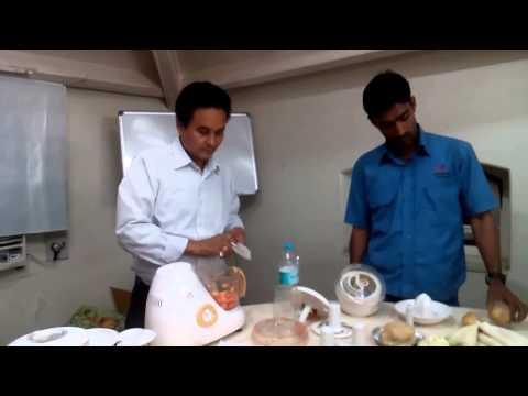 FOOD PROCESSOR DEMO FOR BAJAJ ELECTRICALS   By G N Singh