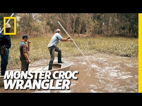 This Croc Really Rocks...the Boat | Monster Croc Wrangler