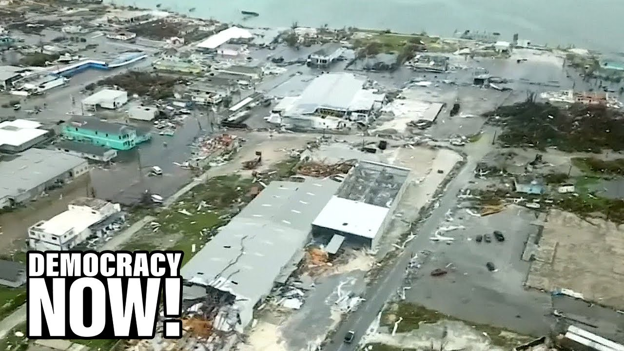 """""""Utter Devastation"""": Bahamian residents stranded after widespread flooding destroys homes"""