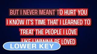 Nobody's Perfect - Jessie J | Karaoke Lower Key
