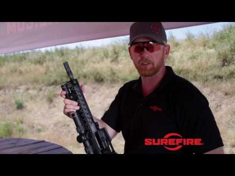 Surefire WARCOMP-556 Flash Hider / Suppressor Adapter - YouTube