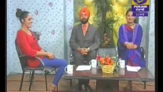 ZINDAGI ANMOL-Shubreet Kaur along with Prof. Lakhbir Singh & Megha bhalla..