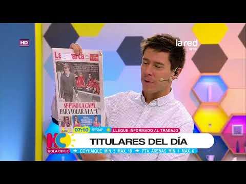 Hola Chile Programa Completo Martes 22 de Mayo 2018