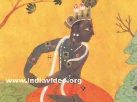 Krishna awaiting Radha's arrival