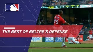 Beltre's career highlighted by Gold Glove defense