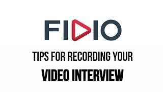 Video Top Tips for Recording your Video Interview | Fidio download MP3, 3GP, MP4, WEBM, AVI, FLV Juni 2018