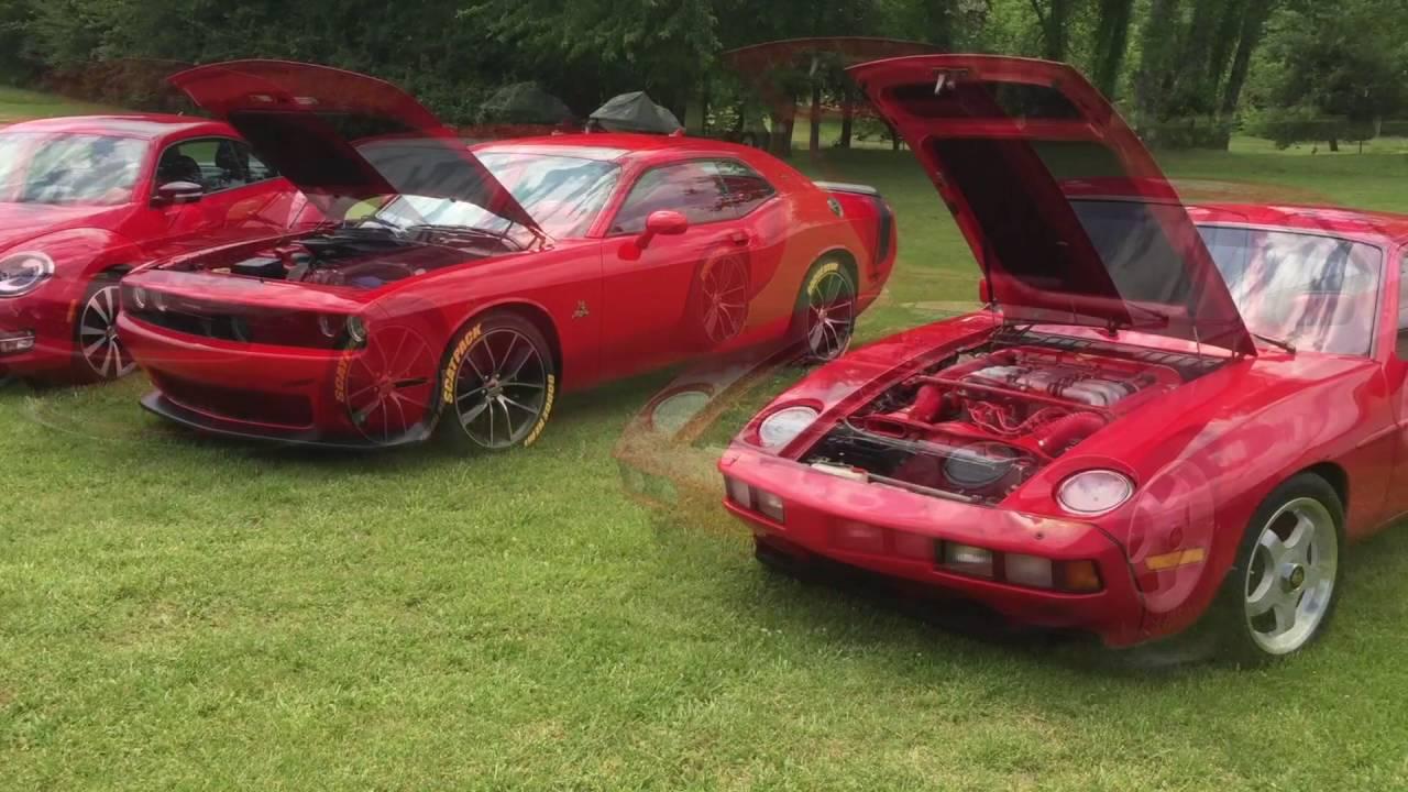 DODGE Challenger Scat Pack vs German Porsche