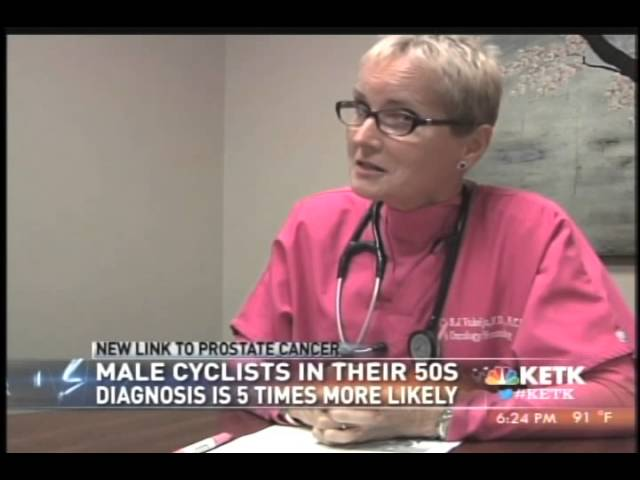 cycling prostate cancer link