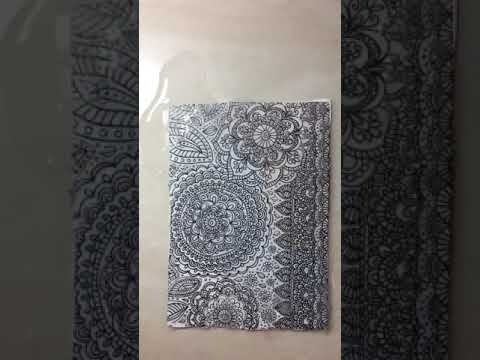 Magic Transfer Paper Floral Fantasy design