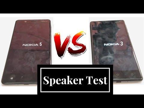 Nokia 5 VS Nokia 3 : Speaker Audio Output Test Comaprison