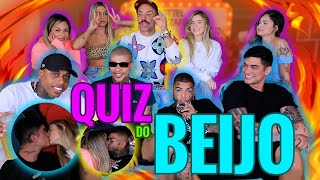 QUIZ DO BEIJO: MC KEVIN, LINCOLN LAU, DFIDELIZ, PKDELAS, ANY BORGES, GABILY, VITORIA LETICIA!
