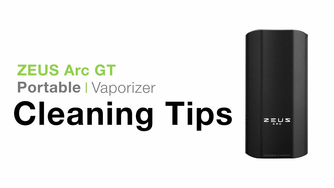 Zeus Arc Cleaning Tips - TVAPE