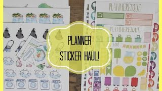 Planner Sticker Haul! (houseofmeis)