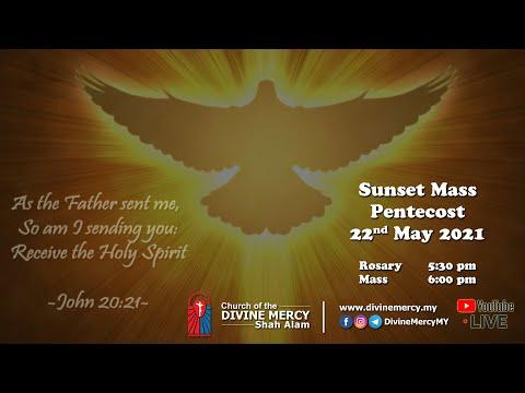 Mass - Sunset, Pentecost | Church of the Divine Mercy, Shah Alam