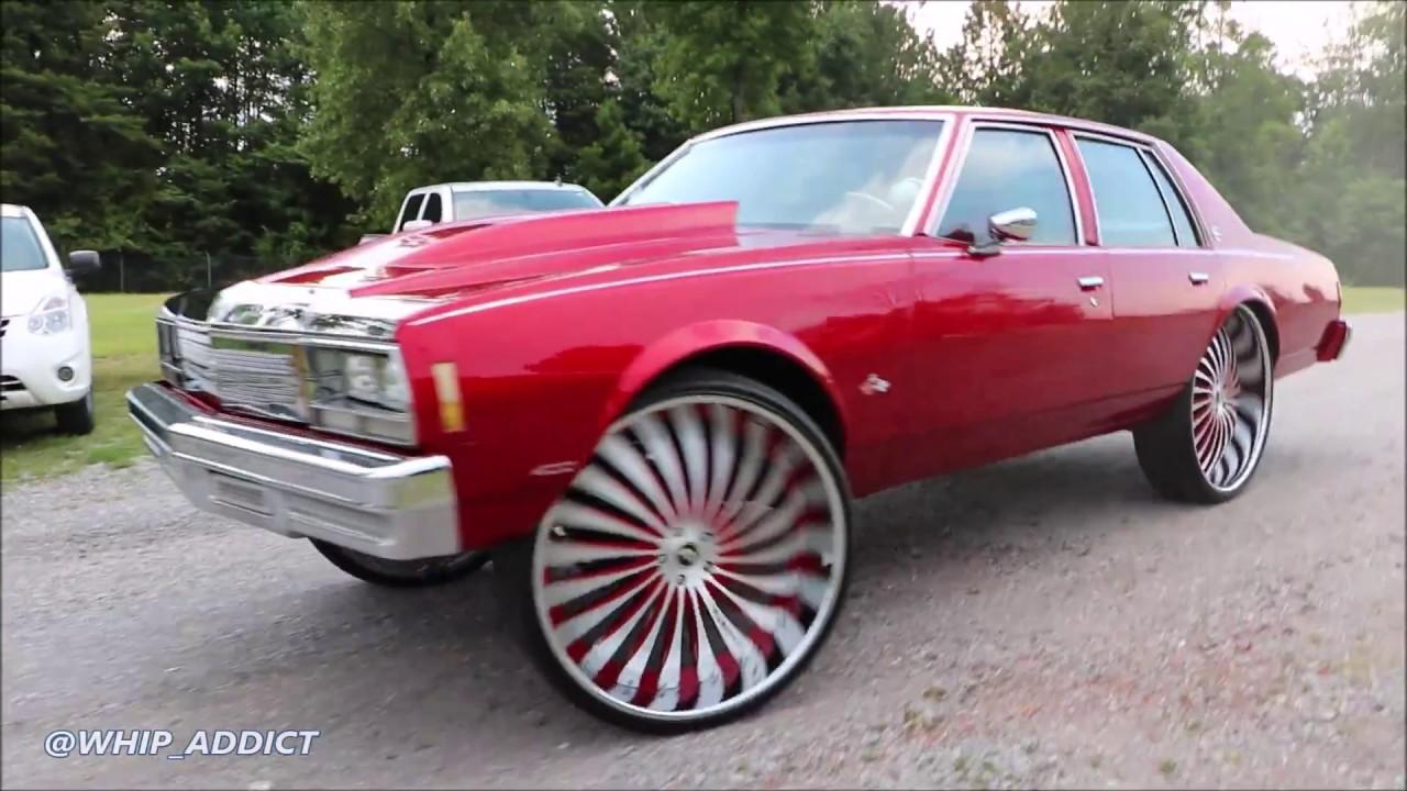 Whipaddict 79 Chevrolet Impala On Forgiato Autonomo 30s Kandy Red