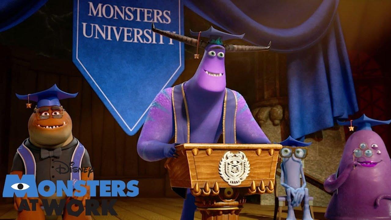 Tylor's Graduation 🎓| Monsters At Work | Disney Channel UK