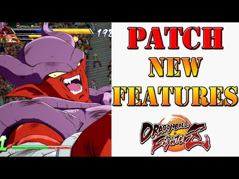 Dragon Ball FighterZ - Patch brings new features & Janemba preview