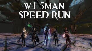 GW2: W1 5man - Speed Run