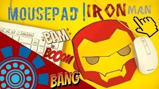 DIY.: MousePad Homem De Ferro