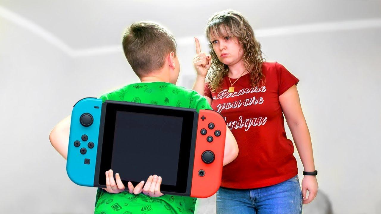 На Что ГОТОВ Серёжа Ради Своей МЕЧТЫ ? Почему Мама Не Хочет Покупать Nintendo Switch ?