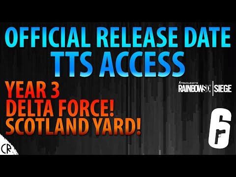 White Noise Release Date - DELTA FORCE & SCOTLAND YARD IN Y3 - Tom Clancy's Rainbow Six Siege - R6