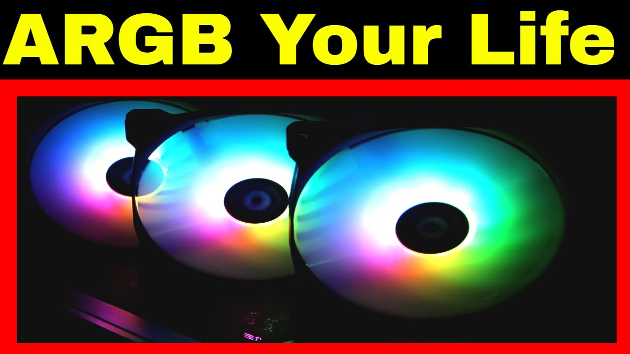 Thermaltake Pure14 ARGB RGB Sync Fan Kit unboxing and testing