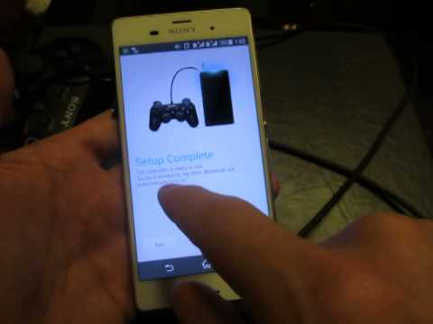 XPERIA Z3: HOW TO CONNECT TO PS3 & PS4 CONTROLLER