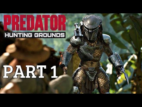Predator Hunting Grounds 2020 - Walkthrough Part 1 (Trial Demo Gameplay) PS4 Pro
