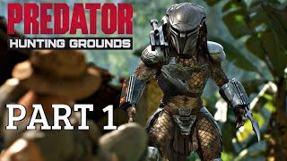 Predator Hunting Grounds 2020 - Walkthrough Part 1 (Trial Demo Gameplay) PS4 Pro