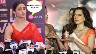 Alia Bhatt Taunts Kangana Ranaut Like Never Before For Weird Behaviour Towards Bollywood Celebs