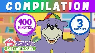 Zaky's Learning Club (Compilation) - EPISODES 7,8 & 9