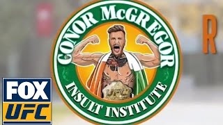 Conor McGregor's Insult Institute