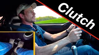 Racing driver's clutch tips for everyday driving